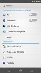 Sony Xperia M2 - Red - Seleccionar el tipo de red - Paso 4