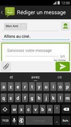 Bouygues Telecom Ultym 5 II - Contact, Appels, SMS/MMS - Envoyer un MMS - Étape 11
