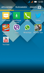 Alcatel OT-4033X Pop C3 - SMS - Configuration manuelle - Étape 3