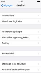 Apple iPhone SE - iOS 10 - Appareil - Mises à jour - Étape 5