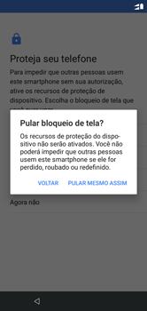 Motorola One - Primeiros passos - Como ativar seu aparelho - Etapa 16