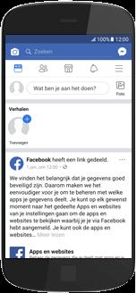 Alcatel A3 - apps - deactiveer automatisch afspelen in Facebook - stap 3