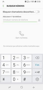 Samsung Galaxy A8 (2018) - Chamadas - Como bloquear chamadas de um número -  7