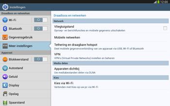 Samsung P5220 Galaxy Tab 3 10-1 LTE - Netwerk - Handmatig netwerk selecteren - Stap 8