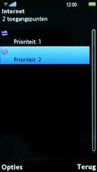 Sony Ericsson U8i Vivaz Pro - Internet - Handmatig instellen - Stap 13