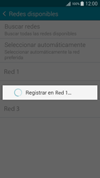 Samsung Galaxy S6 - Red - Seleccionar una red - Paso 8