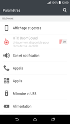 HTC Desire 530 - Applications - Supprimer une application - Étape 4