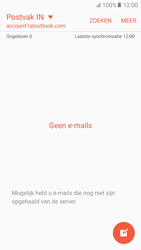 Samsung Galaxy S6 - Android M - E-mail - handmatig instellen (outlook) - Stap 4
