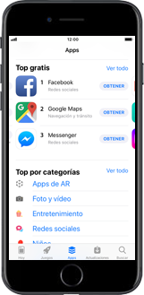 Apple iPhone 6 - iOS 11 - Aplicaciones - Tienda de aplicaciones - Paso 4