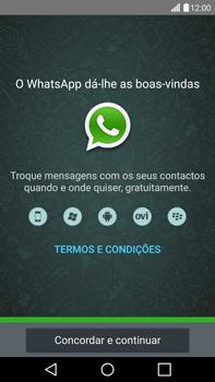 LG G4 - Aplicações - Como configurar o WhatsApp -  5