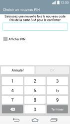 LG D855 G3 - Sécuriser votre mobile - Activer le code de verrouillage - Étape 10