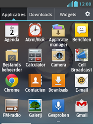 LG E430 Optimus L3 II - E-mail - e-mail instellen: IMAP (aanbevolen) - Stap 3