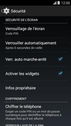Bouygues Telecom Ultym 5 II - Sécuriser votre mobile - Activer le code de verrouillage - Étape 11
