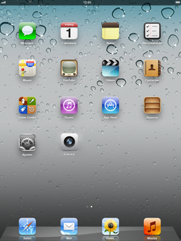 Apple iPad 2 - Internet - Configurar Internet - Paso 1