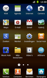 Samsung I9070 Galaxy S Advance - Wifi - handmatig instellen - Stap 2