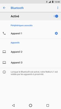 Nokia 6 (2018) - Bluetooth - connexion Bluetooth - Étape 11