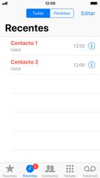 Apple iPhone SE - iOS 11 - Chamadas - Como bloquear chamadas de um número -  4
