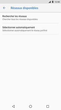 Nokia 6 (2018) - Réseau - Sélection manuelle du réseau - Étape 7