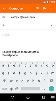 Motorola Moto E4 Plus - E-mails - Envoyer un e-mail - Étape 5
