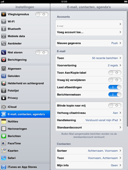 Apple iPad mini - E-mail - Handmatig instellen - Stap 15