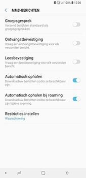 Samsung Galaxy A9 - MMS - probleem met ontvangen - Stap 8