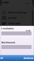 Nokia C6-00 - E-mail - e-mail instellen: POP3 - Stap 7
