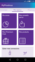 Huawei Y6 - Applications - MyProximus - Étape 12