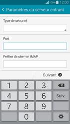 Samsung G850F Galaxy Alpha - E-mail - Configurer l