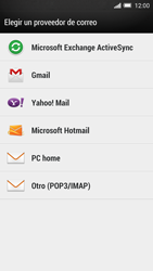 HTC One M8 - E-mail - Configurar Yahoo! - Paso 4