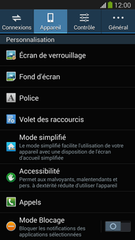 Samsung N9005 Galaxy Note III LTE - Messagerie vocale - Configuration manuelle - Étape 5