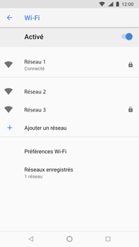 Nokia 8 Sirocco - Wifi - configuration manuelle - Étape 8