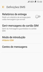 Samsung Galaxy Xcover 3 (G389) - SMS - Como configurar o centro de mensagens -  8