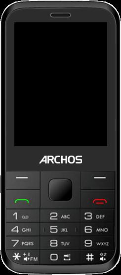 Archos F28 - Premiers pas - Découvrir les touches principales - Étape 2