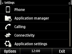 Nokia E6-00 - Internet - Manual configuration - Step 4