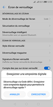 Huawei Mate 10 Pro - Sécuriser votre mobile - Activer le code de verrouillage - Étape 11