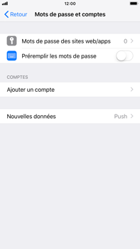 Apple iPhone 8 Plus - iOS 12 - E-mail - Configuration manuelle - Étape 5