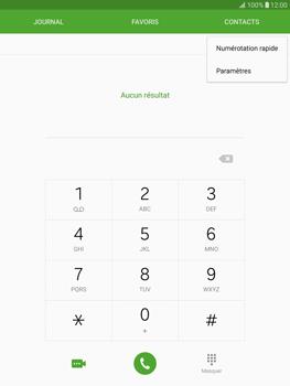 Samsung T815 Galaxy Tab S2 9.7 - Messagerie vocale - Configuration manuelle - Étape 5
