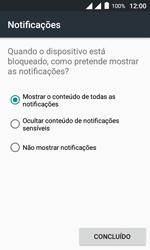 """Alcatel Pixi 4 (4"""") - Segurança - Como ativar o código de bloqueio do ecrã -  11"""