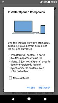 Sony Xperia XA2 Ultra - Internet et connexion - Utiliser le mode modem par USB - Étape 7