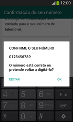 Samsung Galaxy Ace 3 LTE - Aplicações - Como configurar o WhatsApp -  7
