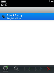 BlackBerry 9810 Torch - Settings - Configuration message received - Step 10