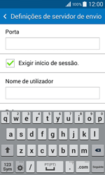 Samsung Galaxy Core II - Email - Configurar a conta de Email -  14