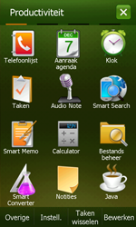 Samsung B7610 Omnia Qwerty - Internet - handmatig instellen - Stap 3