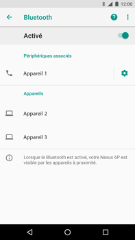Huawei Nexus 6P - Android Oreo - Bluetooth - connexion Bluetooth - Étape 11