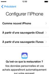 Apple iPhone 4S (iOS 8) - Premiers pas - Créer un compte - Étape 12