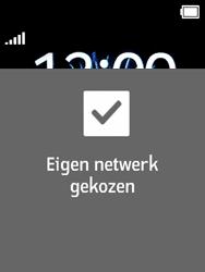 Nokia 3310 3G (TA-1022) - Netwerk selecteren - Handmatig een netwerk selecteren - Stap 10