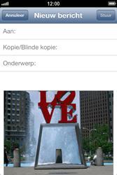Apple iPhone 4S met iOS 6 (Model A1387) - E-mail - Hoe te versturen - Stap 7