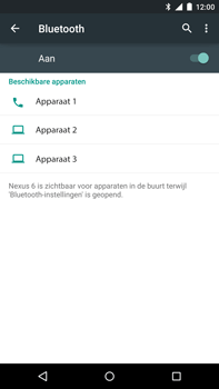 Google Nexus 6 - Bluetooth - headset, carkit verbinding - Stap 6