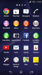 Sony Xpéria E3 - Contact, Appels, SMS/MMS - Ajouter un contact - Étape 3