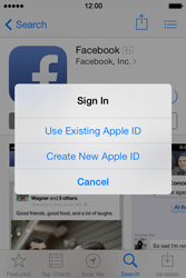 Apple iPhone 4 S iOS 7 - Applications - Create an account - Step 8